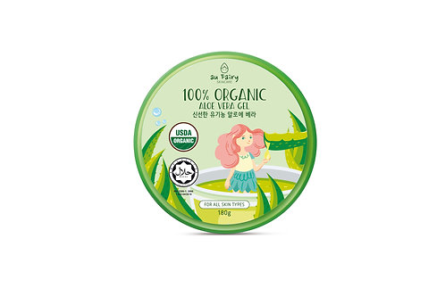 100% Organic Aloe Vera Gel