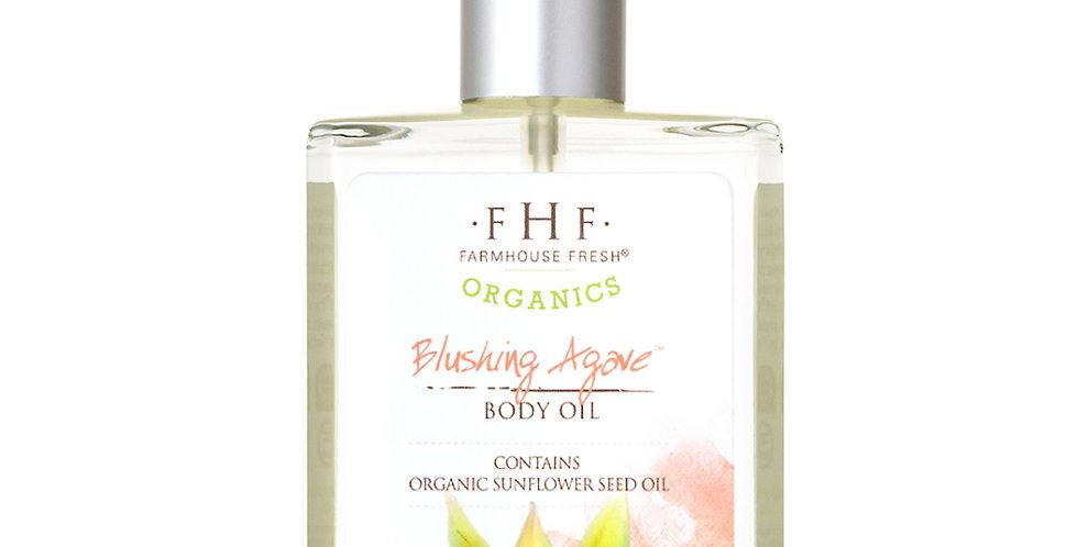 Blushing Agave Organic Body Oil