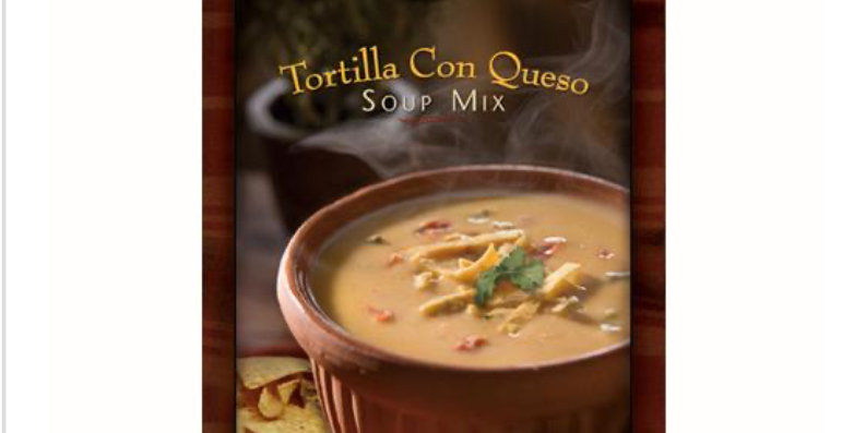 Soup for One Tortilla Con Queso