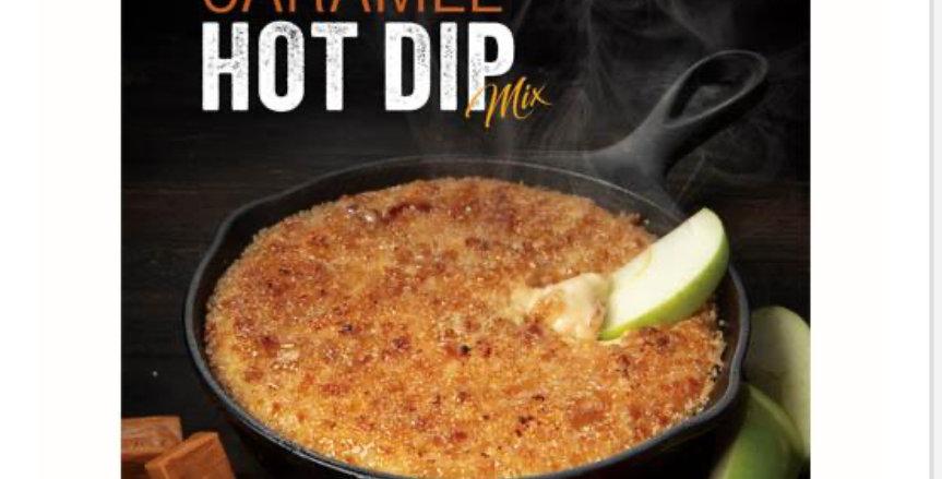 Skillet Salted Caramel Hot Dip Mix