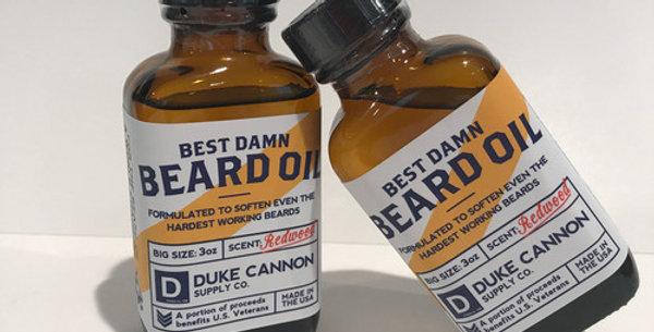 beard oil redwood