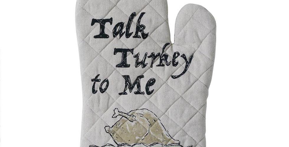 Talk Turkey to Me Oven Mitt