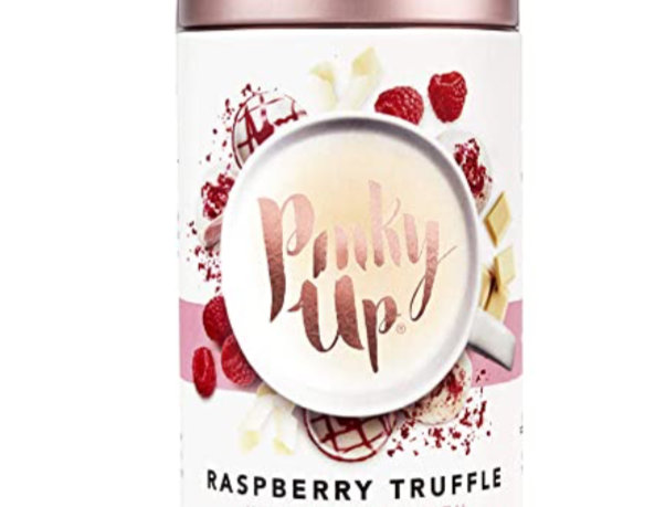 Pinky Up Raspberry Truffle loose leaf tea