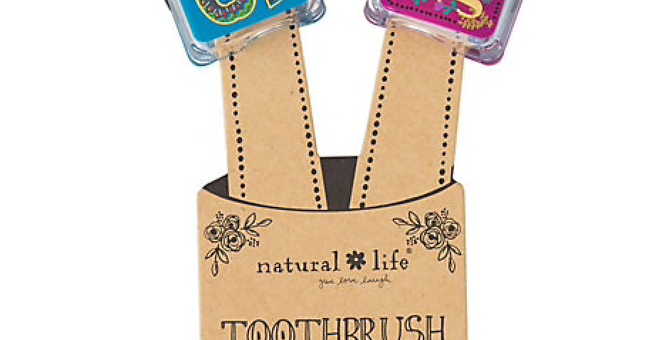 His & Hers toothbrush protectors