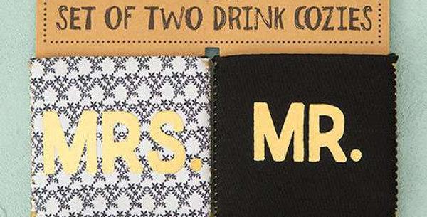 Mr.& Mrs. Drink Cozies