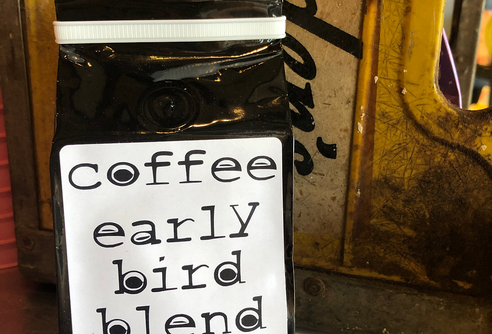 Early Bird Blend Coffee 8 oz.