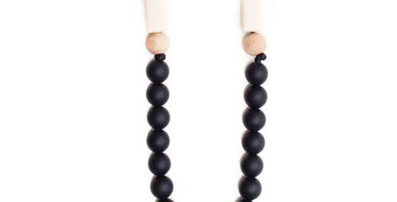Small Black Teether Necklace