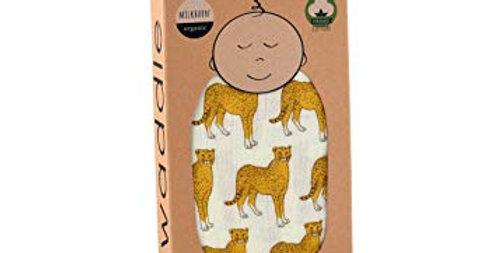 Swaddle blanket cheetah