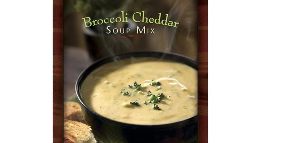Soup for One Broccoli Cheddar