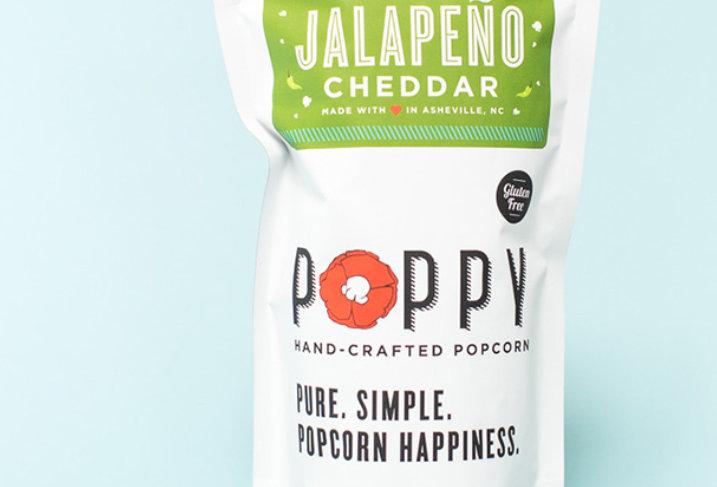 Poppy Popcorn Jalapeño Cheddar