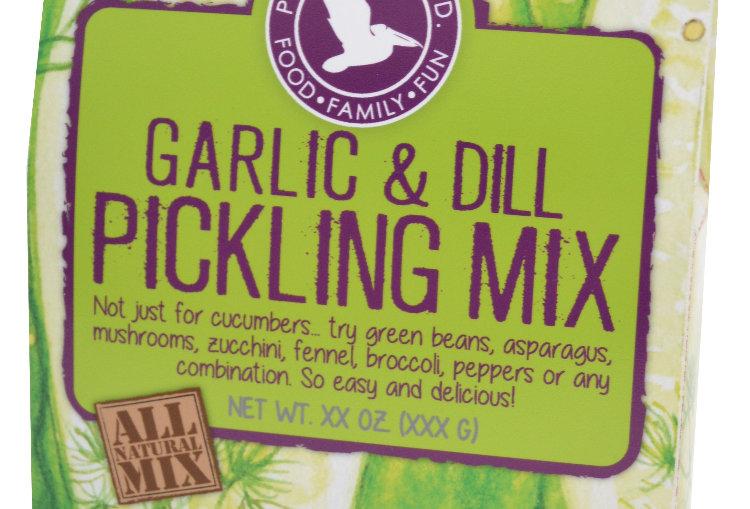 Garlic & Dill Pickling Mix