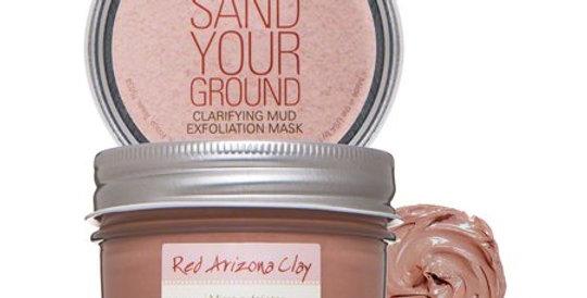 Sand your ground-clarifying mud mask