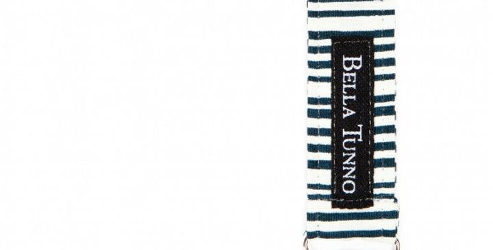 black stripe pacifier clip