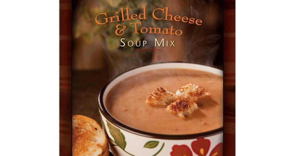Soup for One Grilled Cheese & Tomato