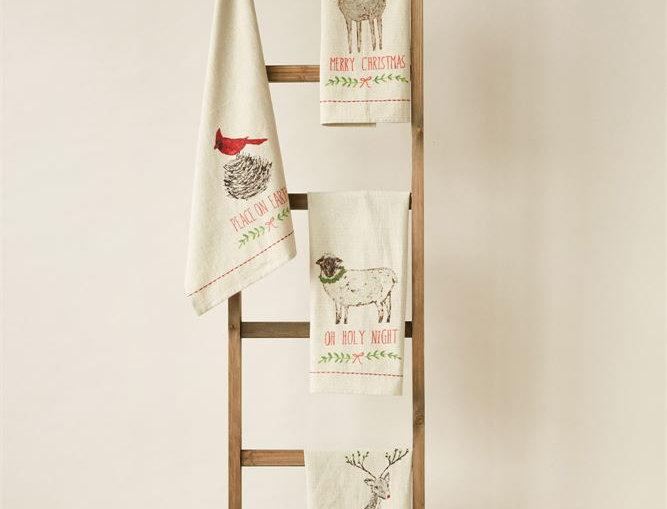 Christmas Cotton Tea Towel