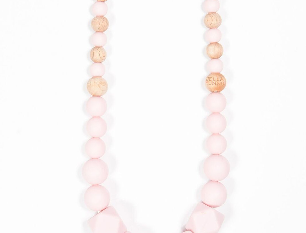 Large Pink Teether Necklace
