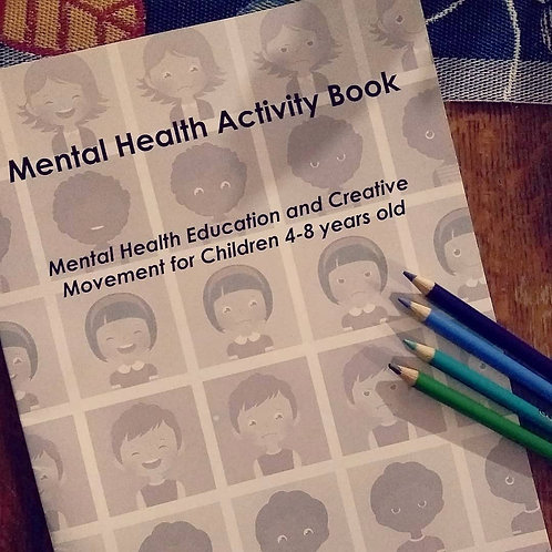 Mental Health Education Activity Book