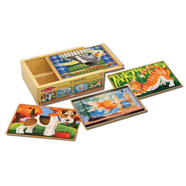 Simple jigsaw puzzles