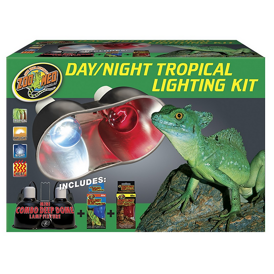 Zoo Med Combo Day/Night Tropical Lighting Kit