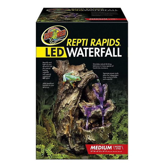 Zoo Med Repti Rapids LED Waterfall – M