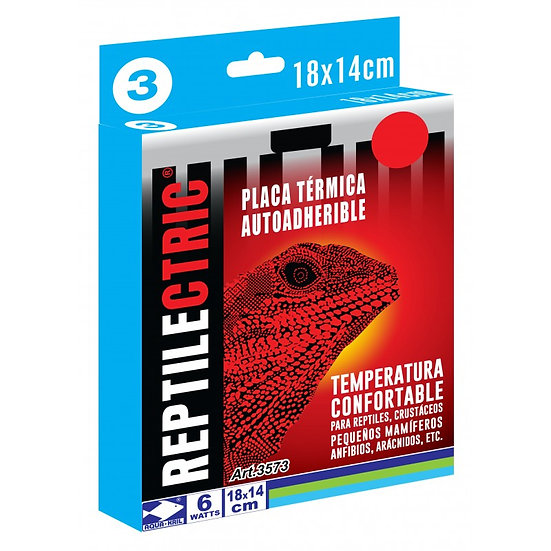 Placa Termica REPTILECTRIC 18x14cm 6w
