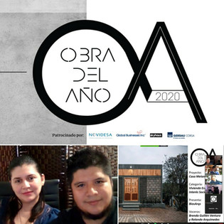 Entrevista 2da Etapa del Premio Obra del Año 2020 de la Revista Obras