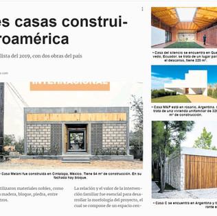 Las mejores casas construidas en Iberoamérica en PressReader, Ecuador