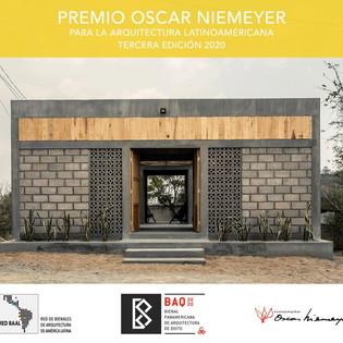 PREMIO OSCAR NIEMEYER EDICIÓN 03 | LISTA DE LOS 20 SELECCIONADOS