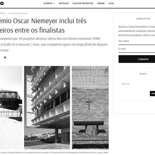 3º Prêmio Oscar Niemeyer inclui três brasileiros entre os finalistas en Projeto