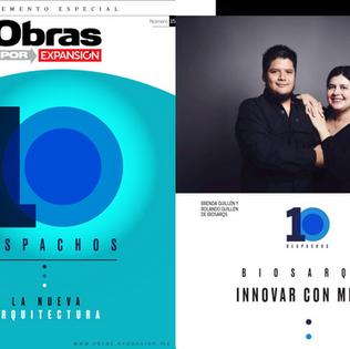 ¡BiosArqs nombrado como uno de los 10 despachos más creativos de México!