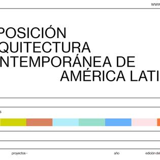 Arquitectura Contemporánea de América Latina