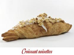 Croissant noisettes