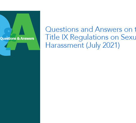 5 Take Aways from OCR Title IX Q&A