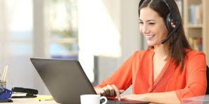 work from home customer service person 2