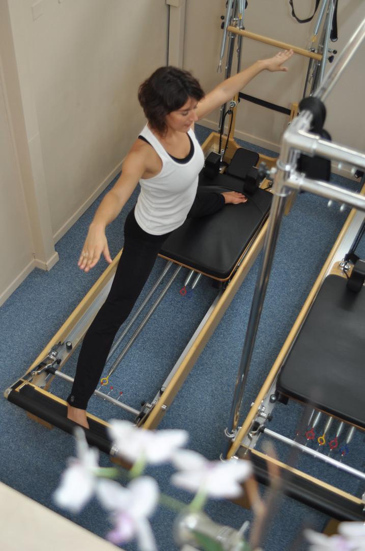 Pilates machine Reformer