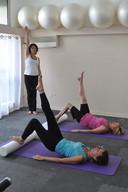 Cours Pilates sur tapis