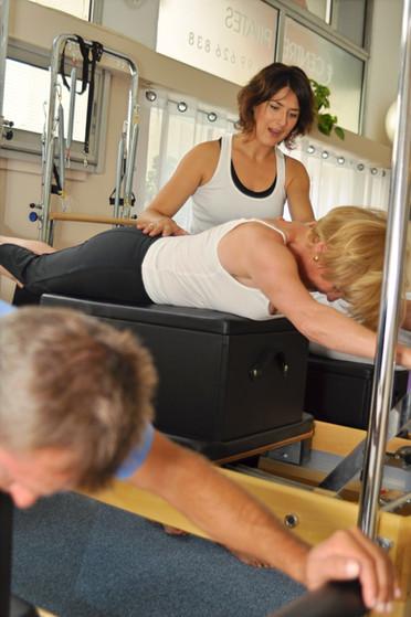 Coaching personnalisé Pilates