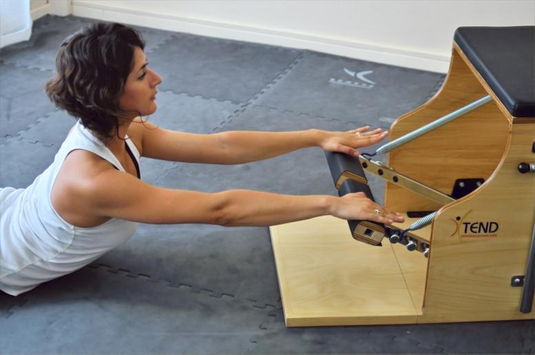 Pilates machine Chair