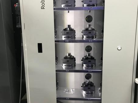New machines up and running!