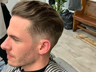 Haircut And Beard Line Up
