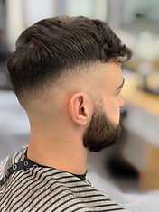 Skinfade And Beard Using Foils