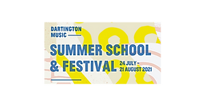 Dartington Music Summer School & Festival 2021