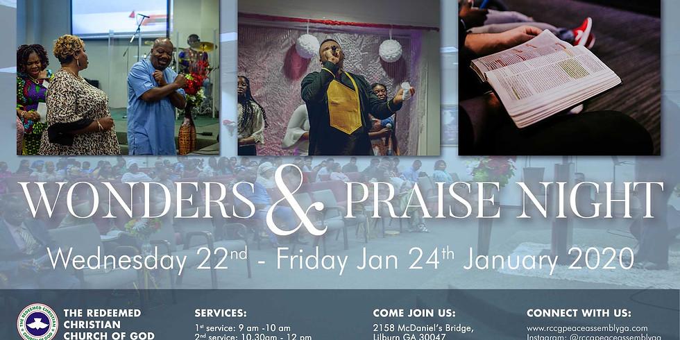 Wonders & Praise Night