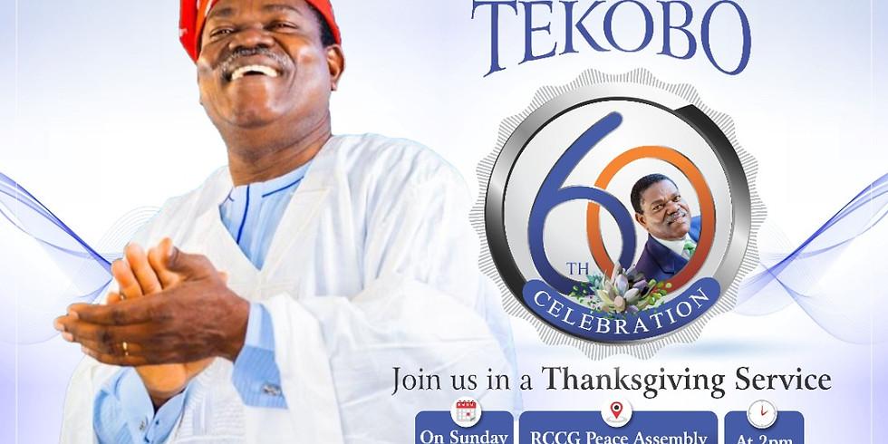 Pastor Francis Tekobo 60th Celebration