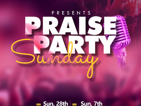 March 2021 Sunday Service: Praise Party & Thanksgiving (Recap)