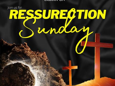 April 2021 Resurrection Sunday Service: Help Cometh