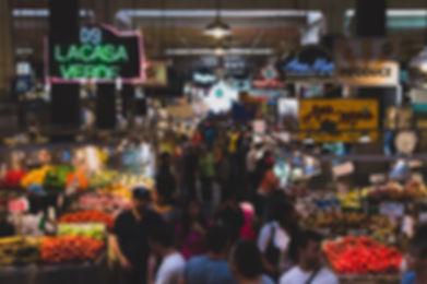 Mercado de fin de semana