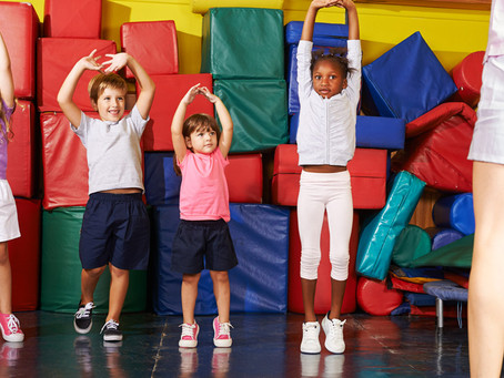 Easy Kids Fitness Activities to do at home