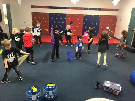 Benefits of Dance, Movement & Music  for Preschoolers!