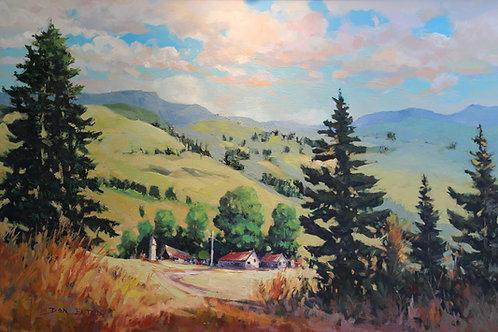"""California Coast Hills"""